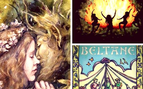 Beltane , fuego y fertilidad